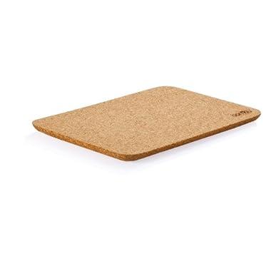 Bambu Large 14-Inch L by 10-Inch W Cork Taper Cutting Board, Natural