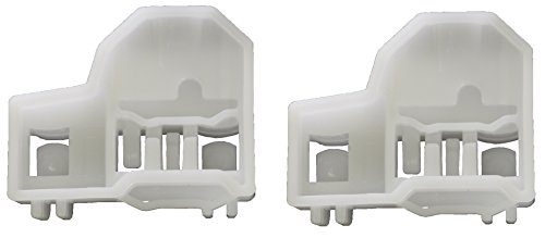 PT Auto Warehouse WG-713348 - Window Regulator Guide Clips - Driver Side Front or Passenger Side Rear
