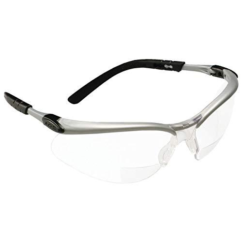 Bx Reader Silver/Black Frame Clear Lens 1.5 Diop, Sold As 1 Box, 20 Each Per Box