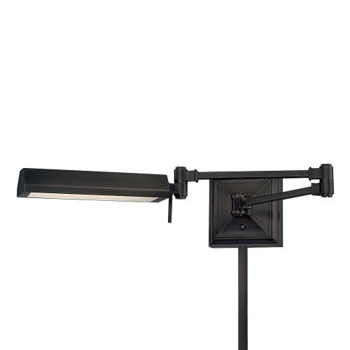 WAC Lighting BL-1527-RB Hemmngway Swing Arm by WAC Lighting
