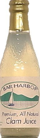 Clam Juice - Bar Harbor Pure Clam Juice, 8 Ounce (Pack of 12)