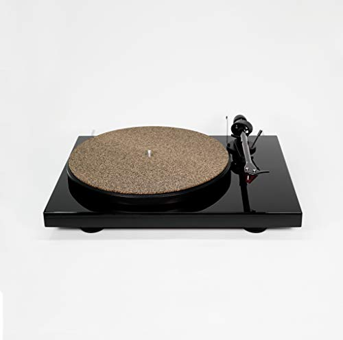 CoRkErY Cork N Rubber Turntable Platter Mat | 1/16'' | Audiophile Slipmat | Made in USA by Hudson Hi-Fi