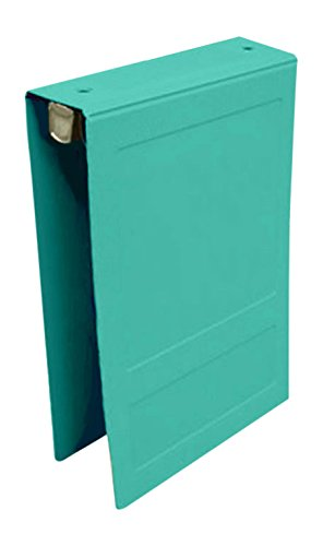 PDC Healthcare CBT10T Poly Binder, Top Open, 5-Ring, Blank Front, 1.5'', Teal