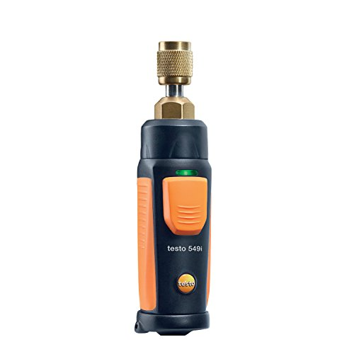 Testo 0560 1549 549I Refrigeration Pressure Smart and Wireless Probe, 1