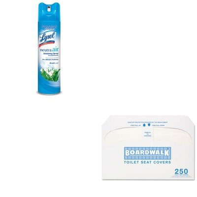 KITBWKK5000RAC76938EA - Value Kit - Boardwalk Premium Half-Fold Toilet Seat Covers (BWKK5000) and Neutra Air Fresh Scent (RAC76938EA)