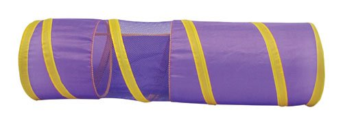 Boss Pet 32089 Collapsible Lightweight Cat Tunnel with Peak-