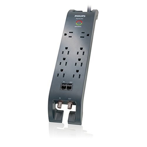 Philips SPP5085D/17 Home Theater Surge Protector
