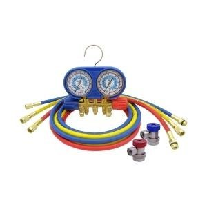 CPS Products AM134BUQ Brass Manifold with Blue Boot