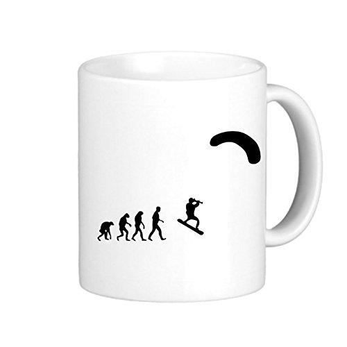 SthAmazing Kiteboard Evolution Designer Coffee Mugs Photo On Mug