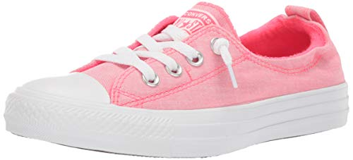 Converse Women's Chuck Taylor All Star Shoreline Slip On Sneaker Racer Pink White, 9.5 M ()
