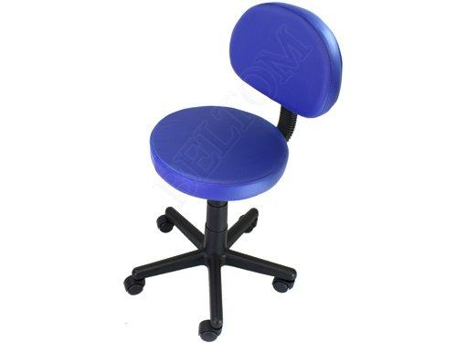 Sgabello con schienale pedicure manicure per lettino massaggio sedia
