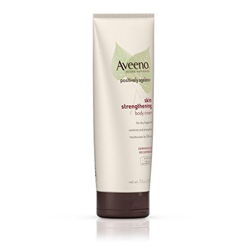 Aveeno Positively Ageless Skin Strengthening Body Cream, Moisturizes For 24 Hours 7.3 Oz by Aveeno (Image #1)