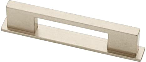 Liberty Hardware P23048-475-CP Dual Mount Limekiln Kitchen Cabinet Hardware  Handle Pull, 3 in or 3-3/4 in in, Bedford Nickel