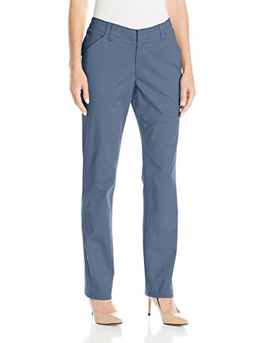LEE Women's Midrise Fit Essential Chino Pant, Vintage Stellar, 16 ()