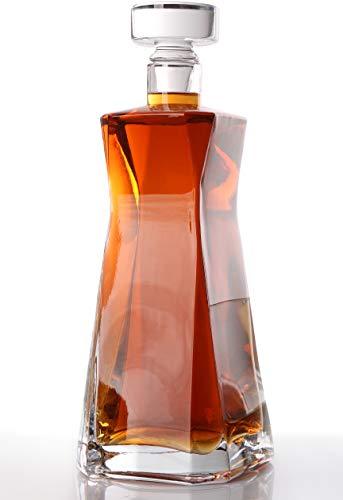 Decanter - Whiskey Decanter - Liquor Bourbon Vodka Decanter - Bar Decanter - Glass Carafe