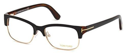 Tom Ford Eyeglasses TF 5307 005 Shiny Black-Havana - Havana Glasses Tom Ford