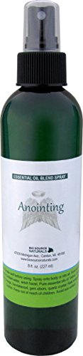 Anointing Essential Oil Blend Reiki Charged Spray with Quartz Crystal --Aromatherapy​ for Fulfilling Life's Purpose - 8 Fl Oz / 227 Ml