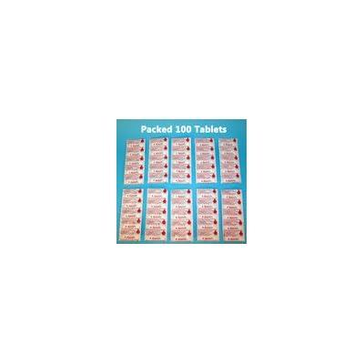 200X Aquatabs®–Purification d'eau comprimés. 1tablette par 20–25litres d'eau
