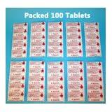 Aquatabs Wasser-Reinigungstabletten, 1 Tablette für 20–25 Liter Wasser