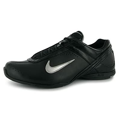 Nike Air Cardio III Leather Ladies Black Silver 4 UK UK  Amazon.co.uk  Shoes    Bags 01c9a2f77f29