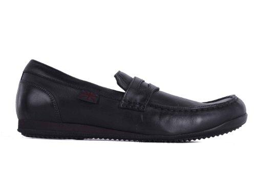 Belstaff Herren Slipper Halbschuhe Schuhe Echtleder Schwarz Gr. 41 #4