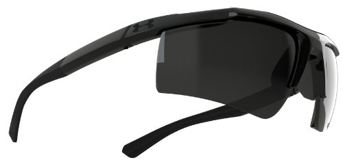 Under Armour Core Satin Black Frame, with Black Rubber and Gray - Sunglasses Under Ua Armour Core