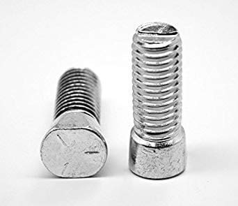 Coarse Thread 7//16-14 x 1-1//2 7//16 x 1-1//2 Plow Bolts Grade 5 Quantity: 350 Zinc Plated Steel Clip Head