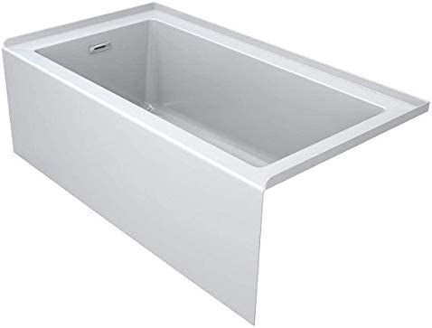 Jacuzzi LNS6036BLXXXXW Jacuzzi LNS6036BLXXXX Linea 60″ x 36″ Acrylic Soaking Bathtub