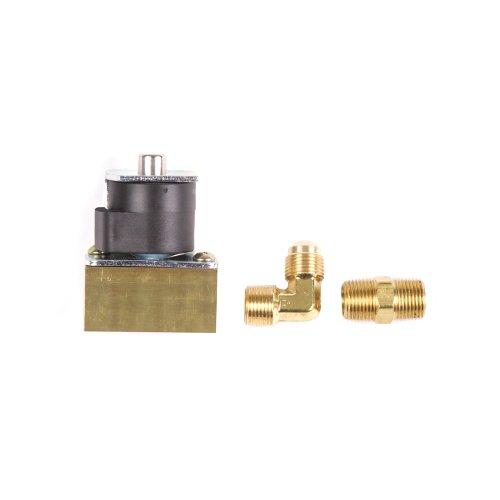 Gas Solenoid Kit - Trident Marine 1300-7706.2-Kit Low Pressure L.P. Gas 12V DC Solenoid Valve, 3/8