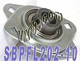 SBPFL202-10 5/8 Pressed Steel Bearing Unit 2-Bolt