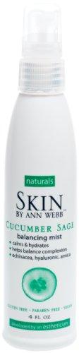 Skin By Ann Webb Mist, Cucumber Sage, 4 Fluid Ounce