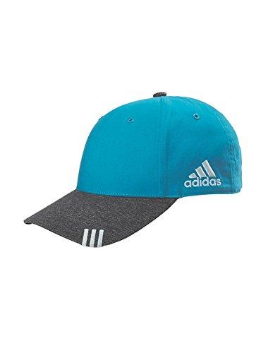 AD COLLEGIATE FRONT HIT CAP (INT TURQ/DK GR H) (OS)