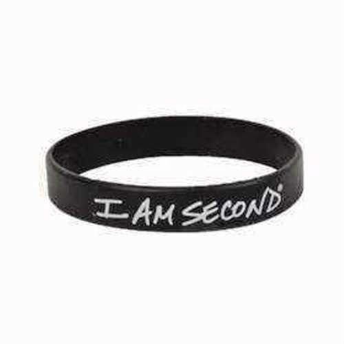 bracelet-i-am-second-wristband-blk-wht