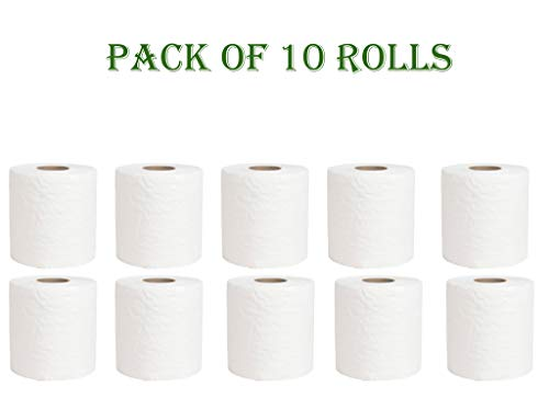 Pantryware Essentials 2 Ply Toilet Paper Giant Rolls 500 Sheets - Case of 10 Rolls