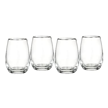 Marquis by Waterford Vintage All Purpose Stemless Wine, Set of 4