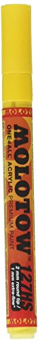 MLW One4all Acrylic Paint Markers 2 mm, Zinc Yellow 006 (127.201)
