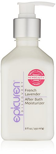 Epicuren Discovery French Lavender After Bath Body Moisturizer, 8 Fl oz