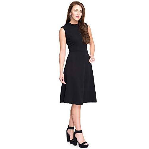 31SrHyrY88L. SS500  - Addyvero Women's Cotton and Crush A-Line Dress