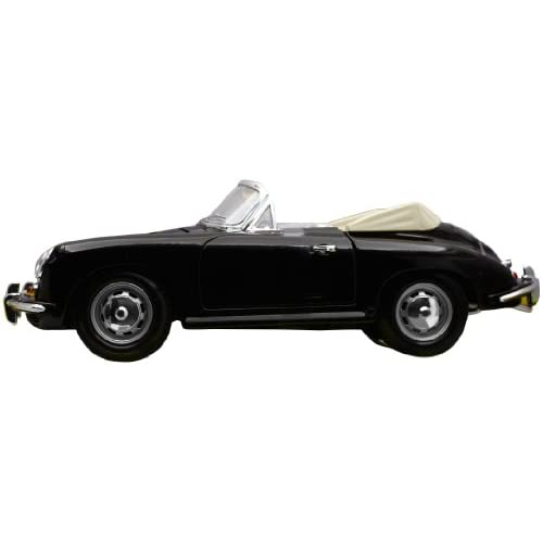 surtido: colores aleatorios 1961, escala 1:18 Coche Porsche 356B Cabriolet Bburago 18-12025 Gold
