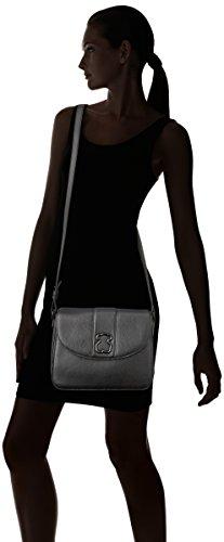 Negro Negro Mediana Mujer para W Alfa 11x20x28 Bandolera L Tous x H cm x Bolso d6O4qXxx