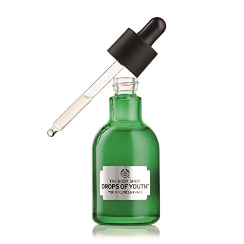 The Body Shop Drops of Youth Youth Concentrate, 100% Vegan Daily Face Serum, 1.69 Fl. Oz.