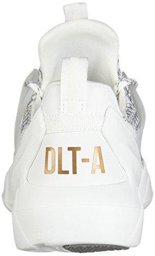 Skechers Women Sneaker Air White Grey Trainer DLT Foam A Cooled Memory LOCUS D'Lites rxITwr