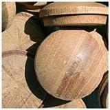 WIDGETCO 1'' Mahogany Button Top Wood Plugs