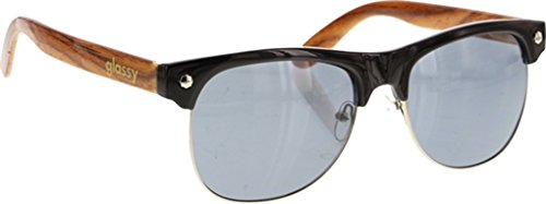 Price comparison product image Glassy Sunhaters Sunglasses Shredder Black / Wood Sunglasses