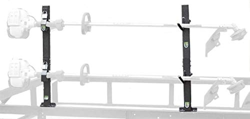 Pack'em 2 Place Locking Trimmer Rack for Open Trailers (PK6S-6S2) Racks