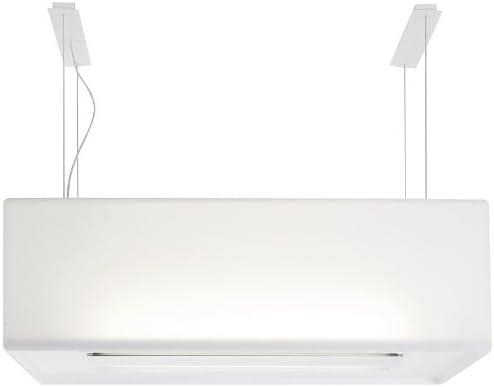 NOVY Zen Decorativa Blanco 470m³/h - Campana (470 m³/h, Recirculación, 410 m³/h, 43 dB, 52 dB, 58 dB): Amazon.es: Hogar