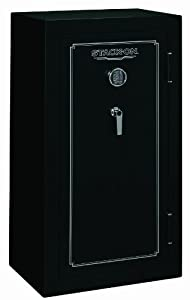 Stack On Fs 24 Mb E 24 Gun Fire Resistant Safe With Electronic Lock Matte Black