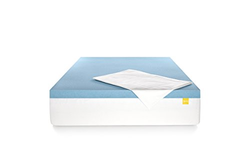 Revel 3 Cooling Gel Memory Foam Mattress Topper with Stay Fresh Cover