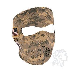 Zan Headgear Neoprene Full Mask - U.S. Army Combat Uniform