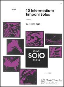 10 Intermediate Timpani Solos ()